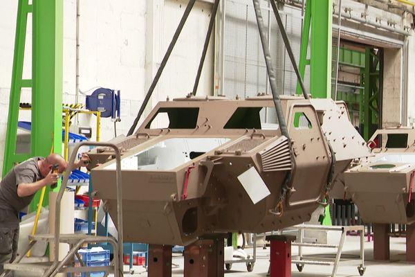 Le site de l'industriel Arquus fournit des véhicules et des pièces de rechange à l'Armée de terre.