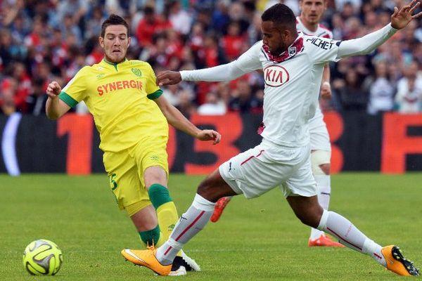 Veretout en action au stade Chaban-Delmas de Bordeaux.