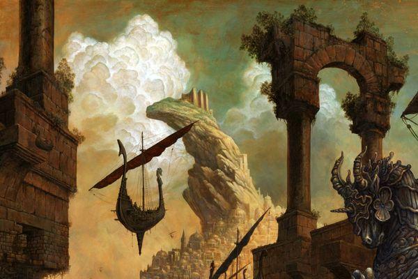 Illustration de la 16ème édition des Imaginales signée de Julien Delval.