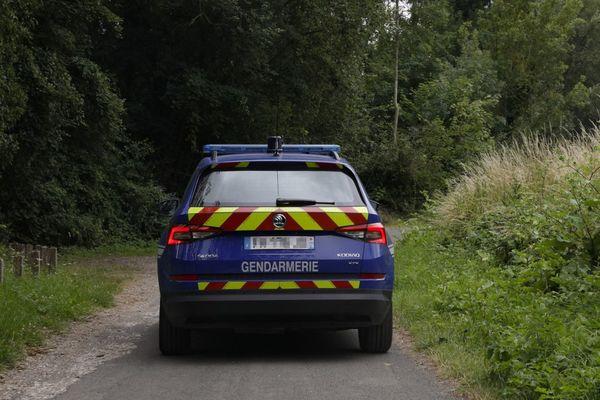 La gendarmerie s'est rendue sur place.