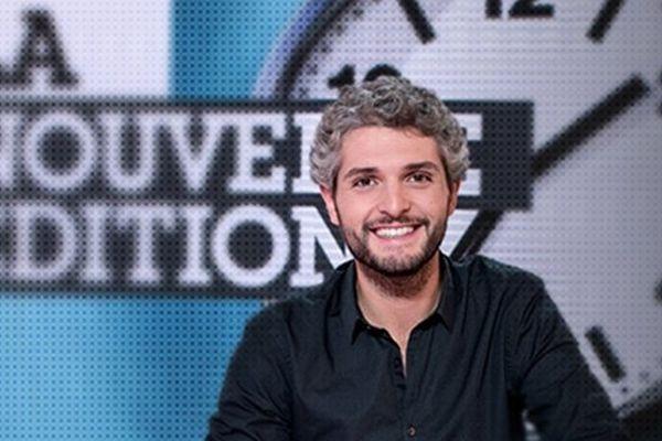L'humoriste Pierre-Emmanuel Barré, lors de sa chronique sur Canal+