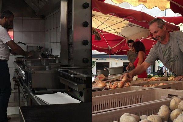 Travailler sans la climatisation à Dijon n'était pas aisé, mardi 7 août, avec la canicule