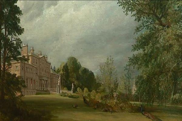 Malvern Hall de John Constable