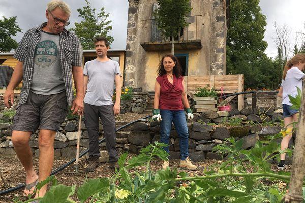 La ferme urbaine donne actuellement ses premiers légumes.
