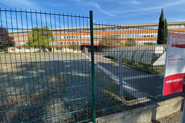 Le lycée Camille Guérin où était scolarisé le jeune étudiant en classe prépa