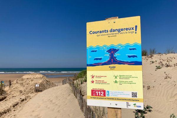 Campagne d'affichage pour alerter sur les  dangers des baïnes