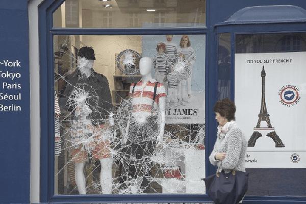 Les commerçants du centre-ville de Rennes victimes des manifestations contre la loi Travail