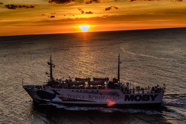 La compagnie Moby Lines a dû réduire ses rotations entre Bonifacio et Santa Teresa Gallura à cause des restrictions sanitaires.