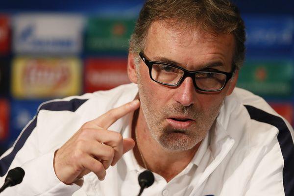 L'entraîneur du PSG, Laurent Blanc.