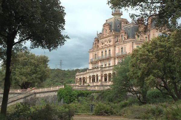 Le château d'Aubiry dispose d'un parc de 4 hectares - 17/05/2021