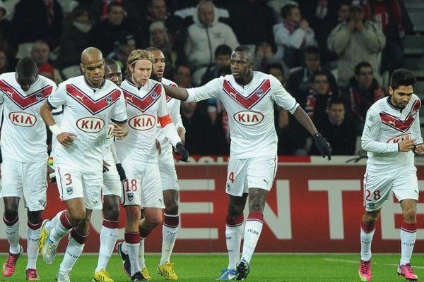 L'équipe des Girondins de Bordeaux.