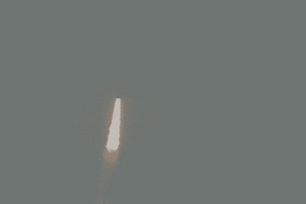 Tir d'essai d'un missile M51,depuis le SNLE Le Triomphant, en baie d'Audierne le 1er juillet 2016