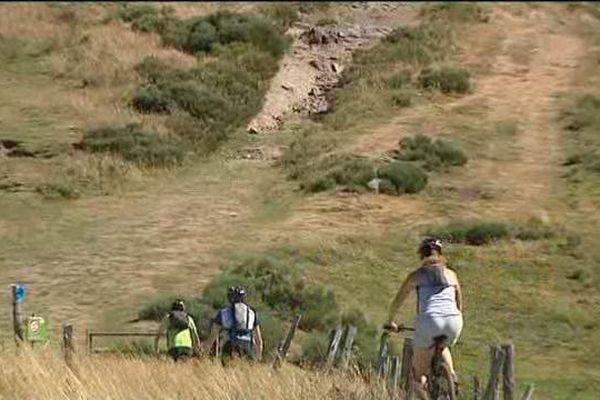 3000 personnes ont arpentées le col de Serre pendant cette saison estivale