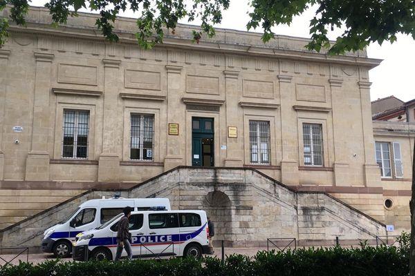 Palais de justice, Albi (Tarn), 28 juin 2021