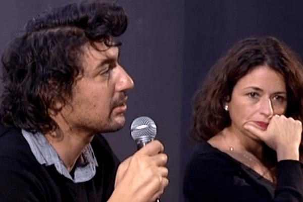 Boris Razon et Karine Tuil rencontrent les élèves