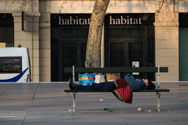 La capitale compte près de 3500 sans-abris