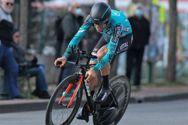 Le Tourangeau Cyril Lemoine prend le départ de son septième Tour de France ce samedi 26 juin 2021 à Brest.