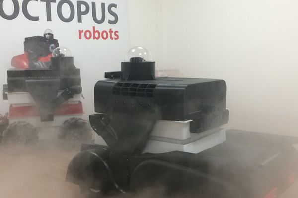 Le robot Octopus développé à Cholet pour traiter les élevages