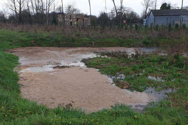 Ces photos ont été prises par un riverain le 3 février