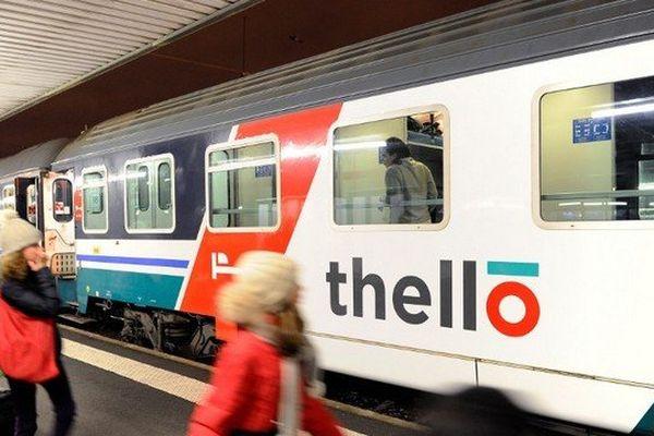 Les abonnés TER ne pourront pas utiliser les trains Thello avec leur abonnement, faute d'accord de la région.