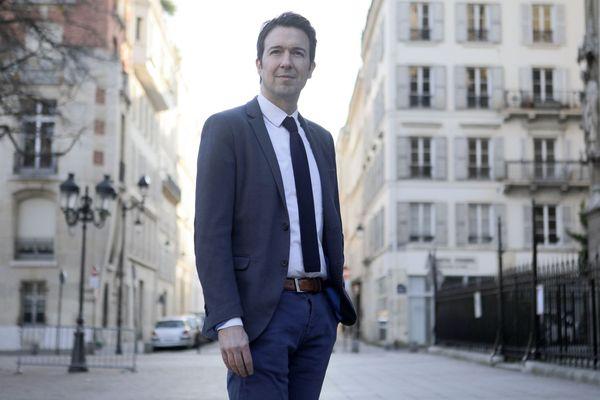 Guillaume Peltier, député du Loir-et-Cher et vice-président Les Républicains