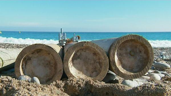 Des bambous afin de contenir le phénomène d'érosion de nos côtes