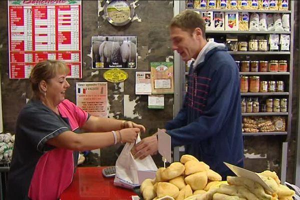 A Belfort, Christian Greffier commence toujours sa journée de travail par une visite auprès de son boucher