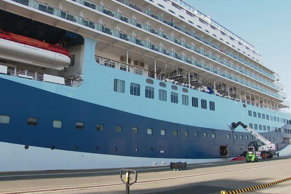 """500 touristes anglais à bord du """"Marella Explorer 2"""", le tiers de la capacité du navire"""