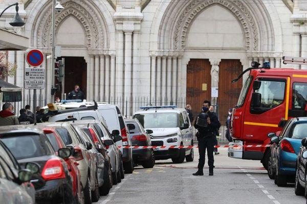Ce jeudi, à Nice, une attaque au couteau a fait trois morts.