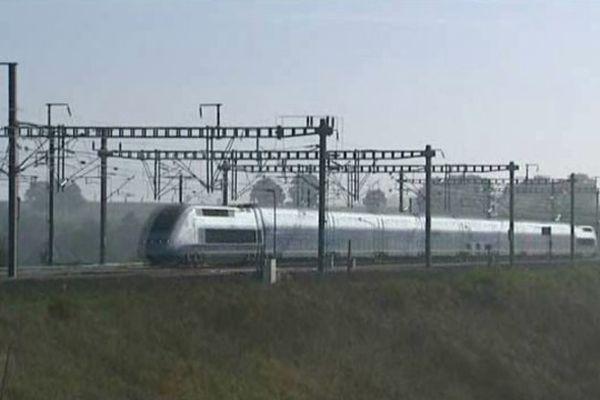 Un TGV...à Meuse TGV