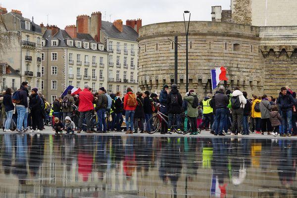 À Nantes, la marche du siècle a réuni près de 3 000 personnes mobilisées pour le climat.