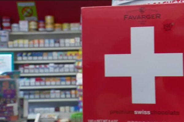 Un bureau de tabac suisse le 21 juillet 2017