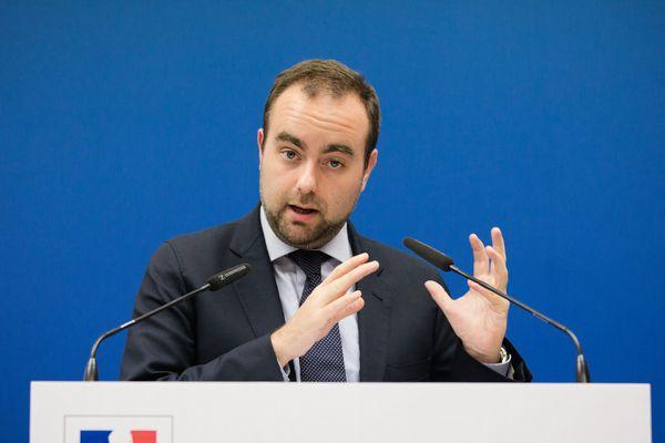 Sébastien Lecornu, secrétaire d'Etat à la transition écologique.