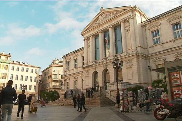 Illustration du Palais de Justice de Nice.