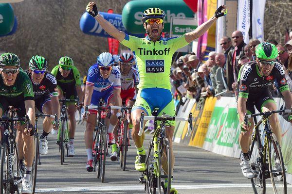 Manuele Borao remporte la 4ème étape du circuit Sarthe Pays de la Loire