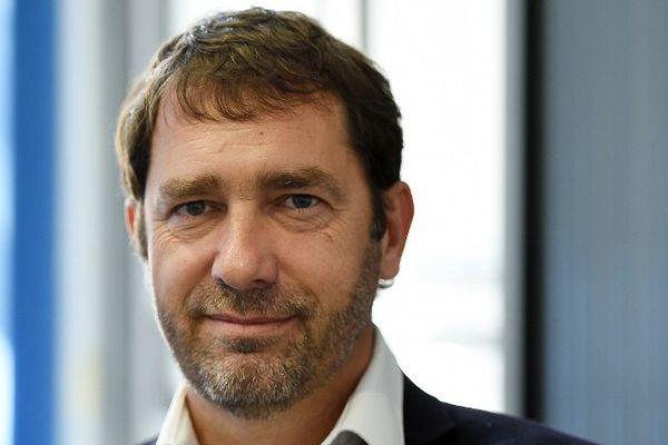 Christophe Castaner, tête de liste PS-PRG
