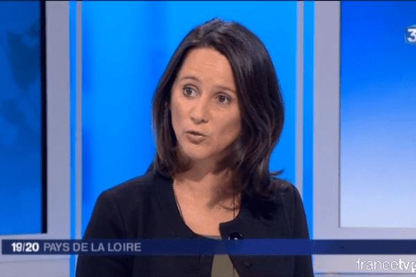 Johanna Rolland invitée dans le 19/20 de France 3 Pays de la Loire, le 19 novembre 2015.