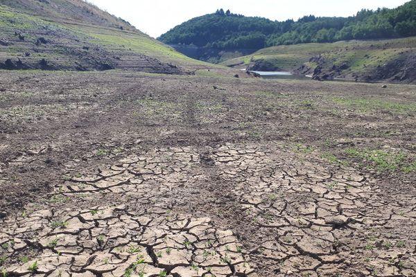 En août 2019, la barrage de la Sep était à sec, victime du manque de pluie. Ce n'est pas le cas pour l'instant, même si la vigilance sécheresse reste de mise sur l'ensemble du Puy-de-Dôme