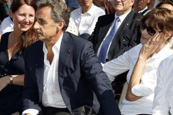 Nicolas Sarkozy Est Arrive En Corse Pour Passer Des Vacances Au Domaine De Murtoli