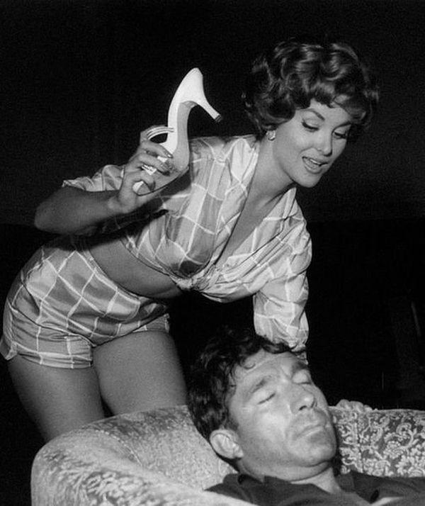 Christiane Martel et Ugo Tognazzi (1959)