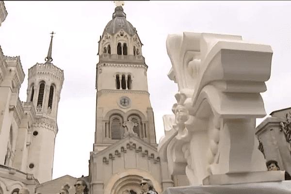 La basilique de Fourvière, à Lyon