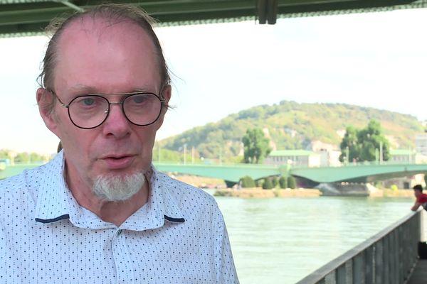 Jean-Marc Davergne, l'une des victimes entendues par la Ciase