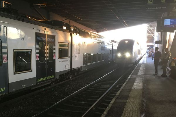 Illustration gare de Rennes