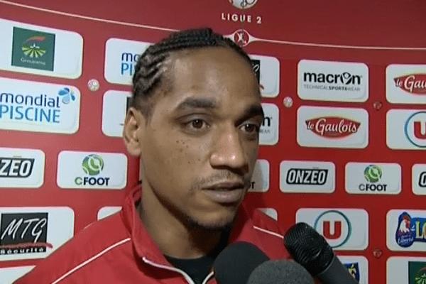 Frédéric Thomas, le milieu défensif du Mans FC