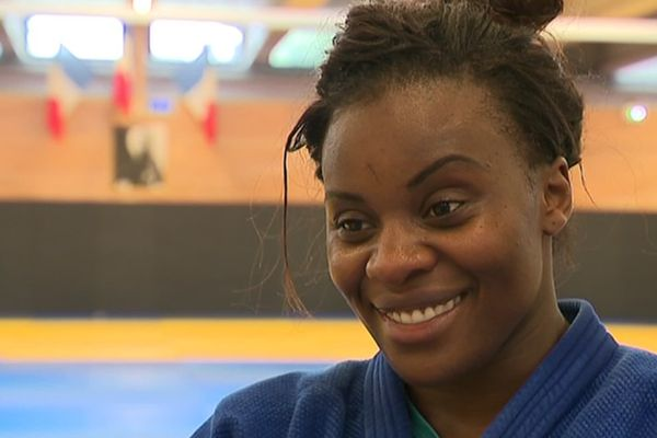 La judokate Madeleine Malonga en 2019