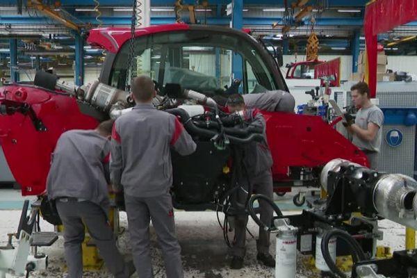 Manitou va recruter 200 nouveaux salariés