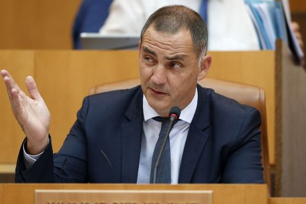 Gilles Simeoni, président du conseil exécutif de Corse, ne se rendra pas à Cozzano pour la visite d'Emmanuel Macron.