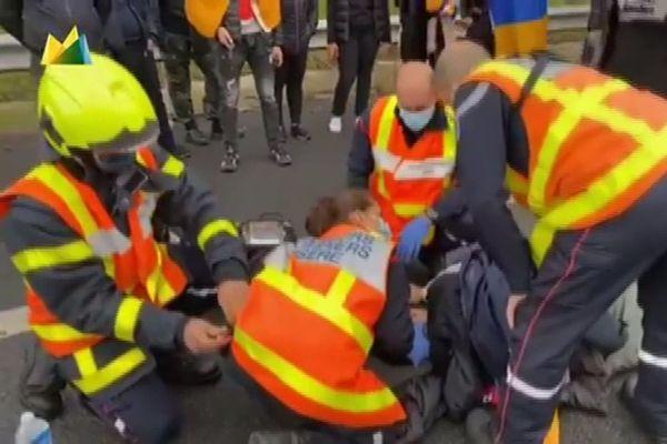 Le 28 octobre au matin, les affrontements sur l'A7 avaient fait 4 blessés: deux personnes originaires d'Ardèche ont été mises en examen le mardi 1er décembre.