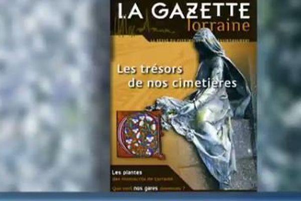 La Gazette Lorraine s'est penchée sur le patrimoine culturel des cimetières lorrains