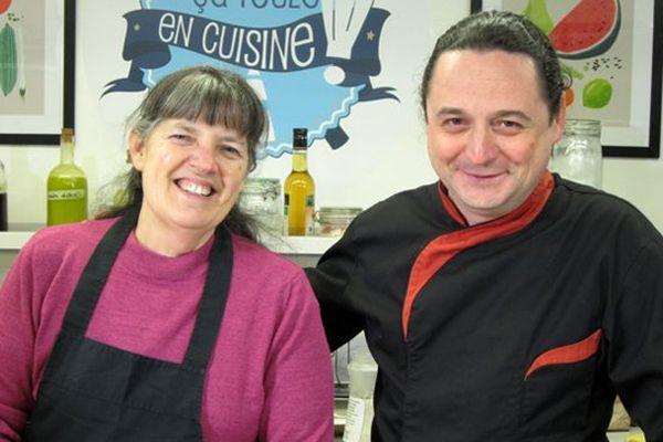 Isabelle Hoch et Romain Deplaine